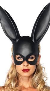 bunny mask bunny mask rabbit mask black mask