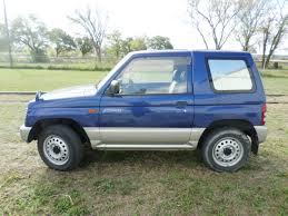 mitsubishi suv blue 1995 mitsubishi mini pajero 4x4 suv lonestar mini trucks