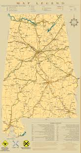 Florida Alabama Map by Railroad Maps Railroadfanwiki
