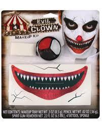 Halloween Makeup Sets by Evil Clown Makeup Kit Mugeek Vidalondon