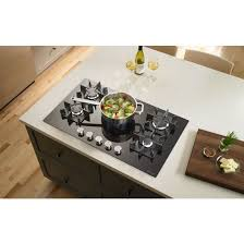 Jenn Air 36 Gas Cooktop Jenn Air Cooktops Gas Black Jgc2536eb