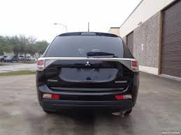 mitsubishi suv 2014 2014 mitsubishi outlander se for sale in houston tx stock 15371