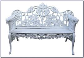 Wrought Iron Bench Seat Wrought Iron Bench Seat Ends Bench Home Decorating Ideas