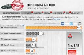 lexus vs honda reliability reliability guide what u0027s the most reliable year of honda accord