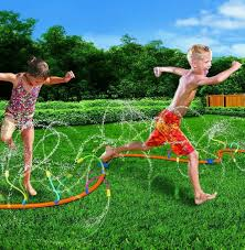 details about water new sprinkler toy kids outdoor fun summer