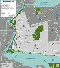 Niagara Falls State Park Map by File Map Niagara Falls Ny Svg Wikimedia Commons