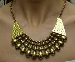 boho bib necklace images Sky 39 antique brass effect boho bib necklace jpg