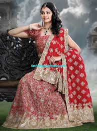 indian beautiful bridal lehenga choli dress for brides wear new