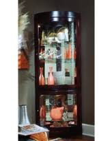 cherry curio cabinets cheap sweet deals on corner curio cabinets