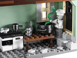 lego announces amazingly detailed haunted house building set for
