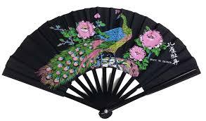 peacock fan fan peacock design