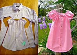 Old Fashioned Toddler Dresses Mens Shirt Toddlers Dress Tutorial Easy Video Instructions Dress