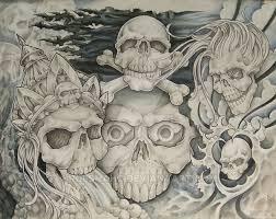 skull flash by rolsnahc on deviantart