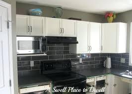 black subway tile kitchen backsplash black subway tile kitchen backsplash kitchen backsplash