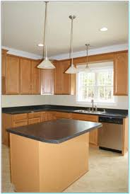 l shaped kitchen with island floor plans wood floors