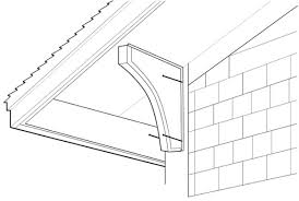 how to install roof brackets old house restoration products