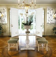 Marble Entry Table Greenwich Connecticut House I By Roughan Interior Designlove A