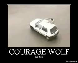 Courage Wolf Memes - gif pictures wolf russian