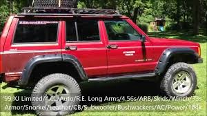 jeep cherokee power wheels 99 jeep cherokee lifted for sale youtube