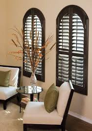 custom black wooden window design with arch design popular home