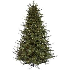 shop vickerman 4 5 ft pre lit frasier fir artificial