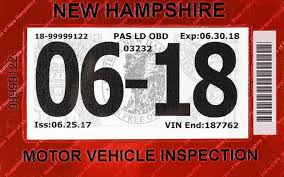 New Hampshire travel safety tips images State vehicle inspection stickers to get new location on jpg