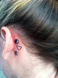 Tattoo Ideas For Behind Ear 29 Best Behind The Ear Tattoos Images On Pinterest Small Tattoos