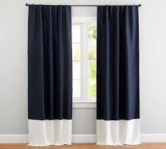 silk home linen silk border drape pottery barn