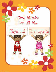 giving thanks for physical therapists happy thanksgiving your