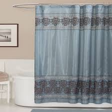Overstock Shower Curtains Lush Decor Royal Dynasty Blue Brown Shower Curtain Overstock