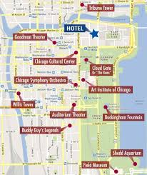 chicago map printable u printable restaurants and sightseeing restaurants chicago hotels