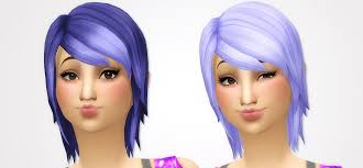 sims 4 blue hair noodles parenthood hair recolors includes recolors of all