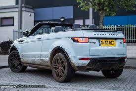land rover evoque blue range rover evoque convertible review carwitter