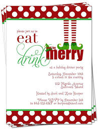10 best images of christmas dinner invitations printable