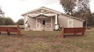 Wedding Venues In Lakeland Fl Barn At Chapel Creek Wedding Venue Youtube