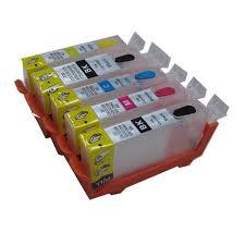 reset pixma ix6560 pgi 725 refillable ink cartridge for canon pixma ip4870 ip4970