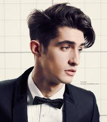 contemporary men u0027s haircut with clean lines and expressive length