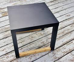 Diy Side Table Diy Side Table Infarrantly Creative