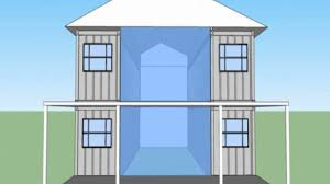 shipping container home 2 story youtube