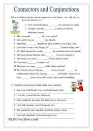 coordinating conjunctions basic worksheet english grammar
