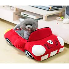 cool sports car shaped dog bed house dogs supplies store