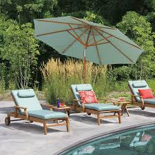 12 Foot Patio Umbrella Teak Patio Umbrellas 12 Ft Tilting Octagon Umbrella With Canopy