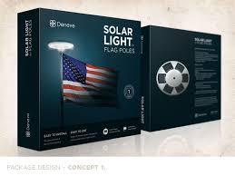 Flag Pole Lights Solar Powered Solar Flagpole Light U2013 Deneve