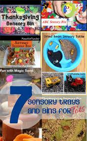 7 simple sensory bin ideas