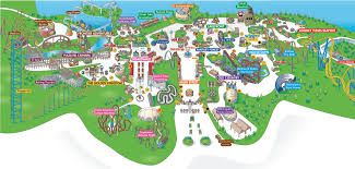 Six Flags Direction Six Flags Great Adventure Theme Park Map 1 Six Flags Boulevard