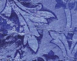 royal blue wrapping paper embossed foil etsy