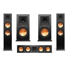 klipsch reference home theater system klipsch reference 5 speaker bundle rp 280f pair rp 160m pair