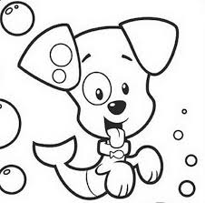 download puppy bubble guppies coloring pages print puppy bubble