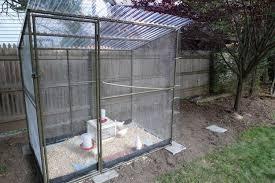 welding rebar frame for coop or run backyard chickens