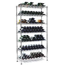 steel pantry wine rack 126 bottles wine enthusiast